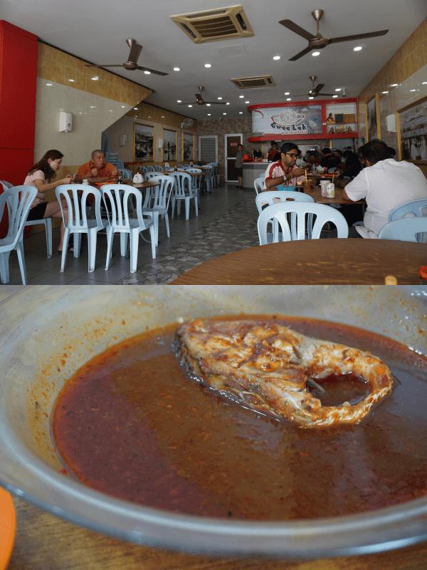 Kluang Johor Gwee Lek Ikan Asam Pedas