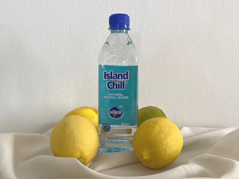Island Chill natural mineral drinking water tapped from deep aquifers in Fiji