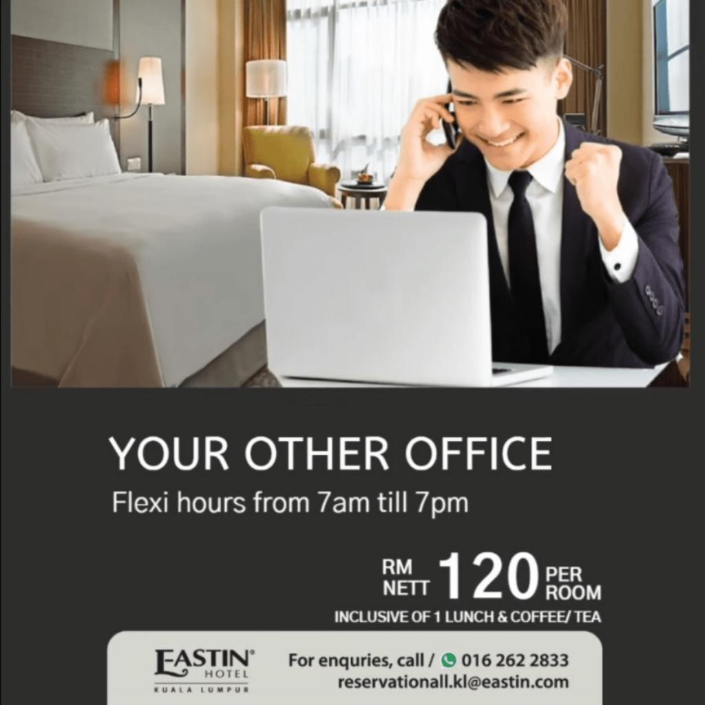 Eastin Hotel Petaling Jaya Work From Hotel Selangor