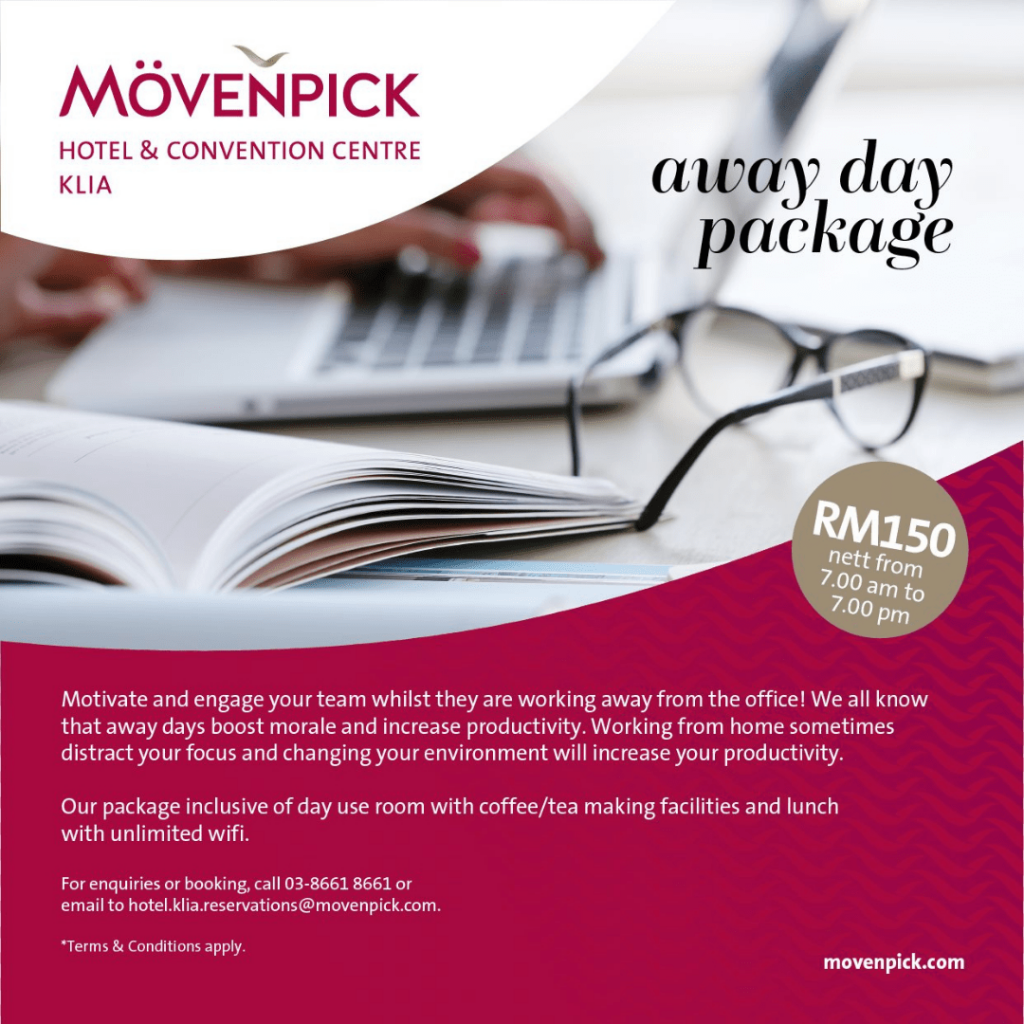 Mövenpick Hotel and Convention Centre KLIA Sepang Work From Hotel Selangor