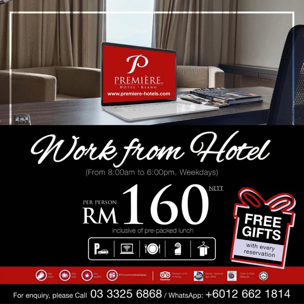 Première Hotel Klang Work From Hotel Selangor
