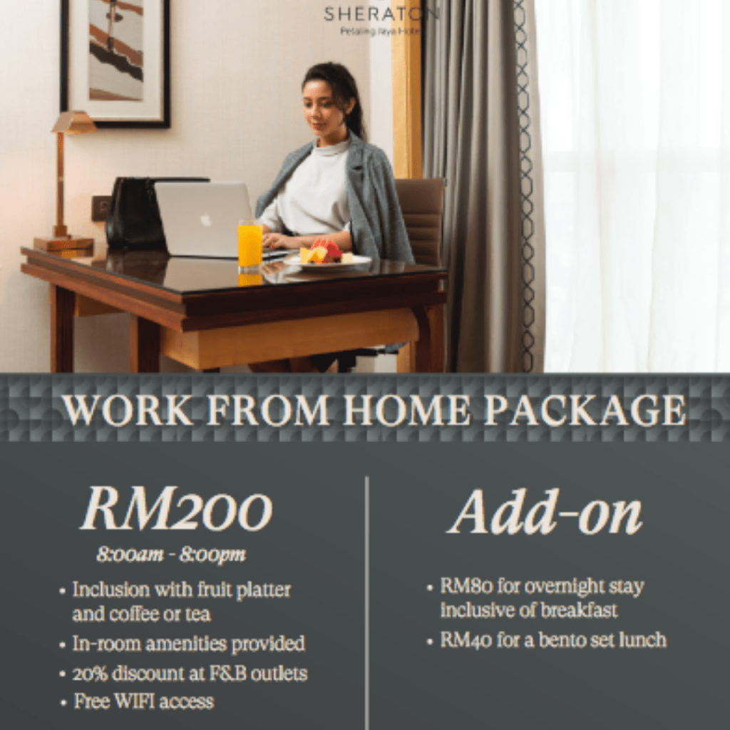 Sheraton Hotel Petaling Jaya Work From Hotel Selangor
