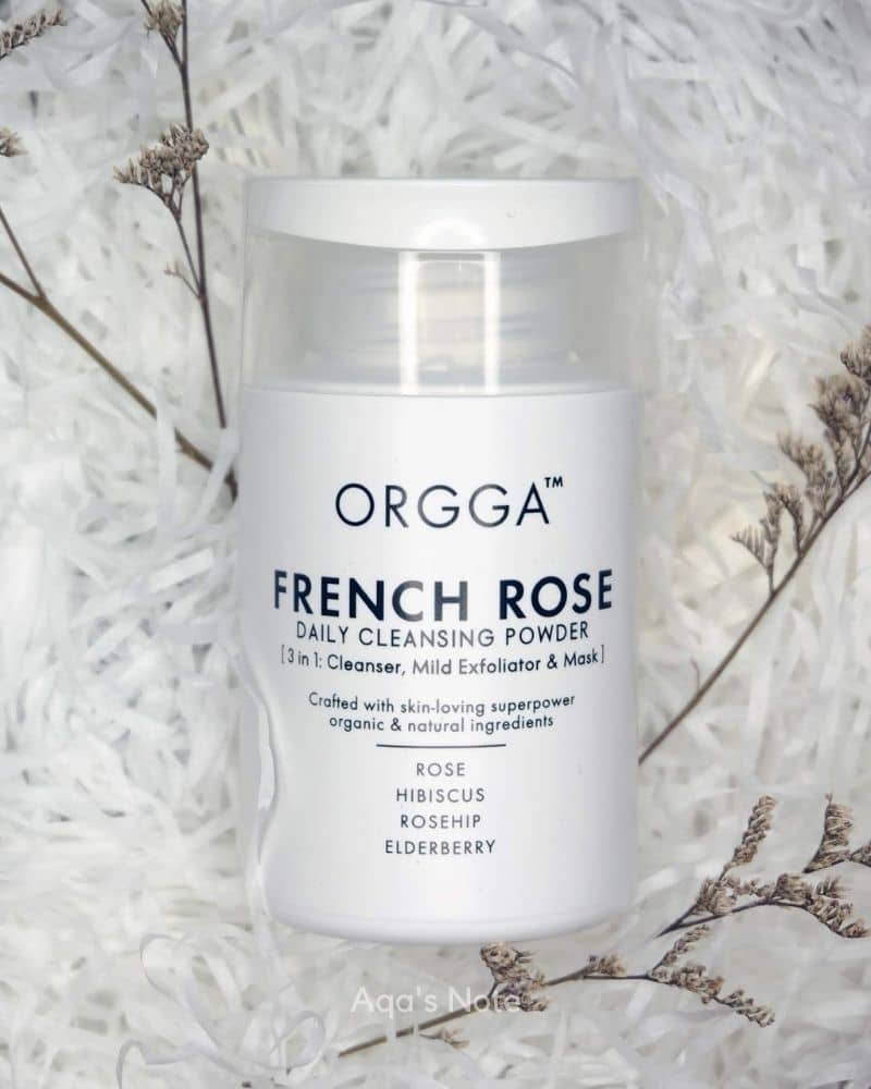 Orgga French Rose Daily Cleansing Powder