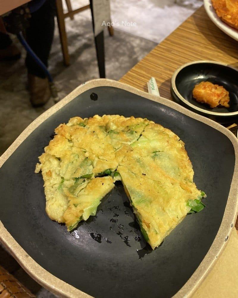 sweetree ampang seafood pancake