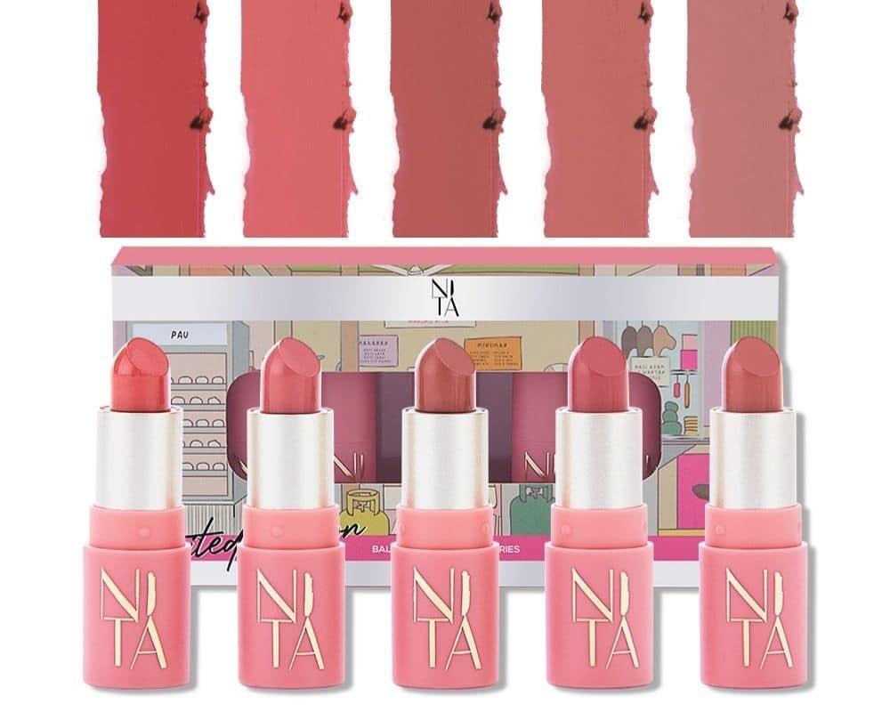 Nita Cosmetics Balik Kampung Series Mini Bullet Matte Lipstick