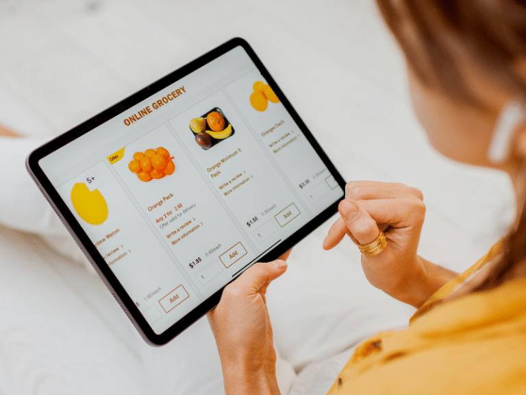 Online Grocery Shopee