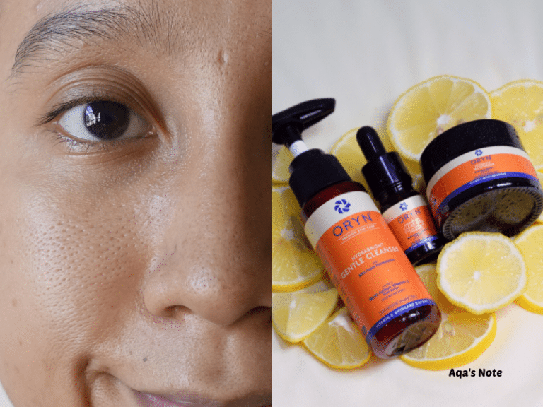 Oryn Skincare Aqa's Note Featured Image