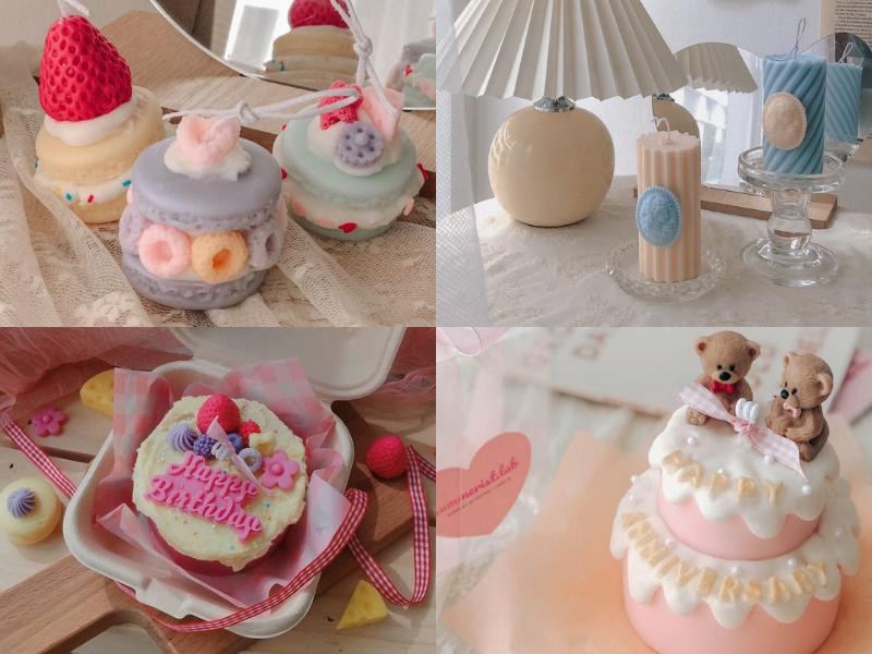 summerist lab korean inspired dessert candles