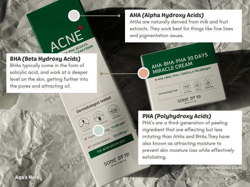 AHA BHA PHA Benefits Some By Mi AHA BHA PHA 30 Days Miracle Acne Clear Foam and Cream Review Threebs Aqa's Note Aqalili Azizan