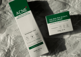 Review Some By Mi AHA BHA PHA 30 Days Miracle Acne Clear Foam and Miracle Cream